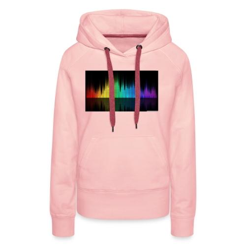 Colorfull - Sweat-shirt à capuche Premium pour femmes