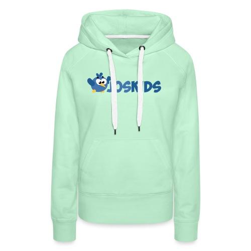 Logo JosKids 3 - Felpa con cappuccio premium da donna
