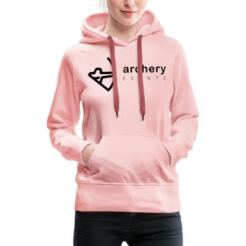 Archery Events Logo - Frauen Premium Hoodie