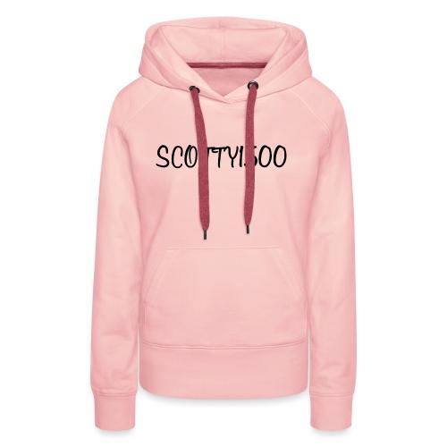 Scotty1500 Hoodie (White) - Women's Premium Hoodie