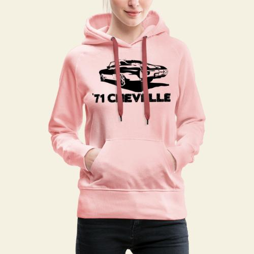 chevelle small - Dame Premium hættetrøje