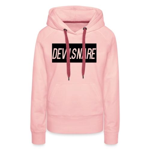 Devilsnare555's blood red hoody - Women's Premium Hoodie