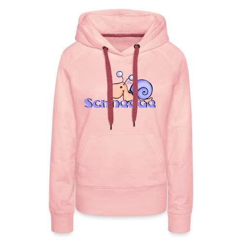 Schnegge - Frauen Premium Hoodie