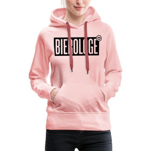 BIEROLOGE - Frauen Premium Hoodie