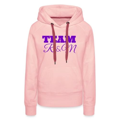 Team R N M Hoodie Purple, W - Women's Premium Hoodie