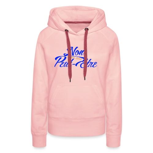 BELGIAN-NONPEUTETRE - Sweat-shirt à capuche Premium pour femmes