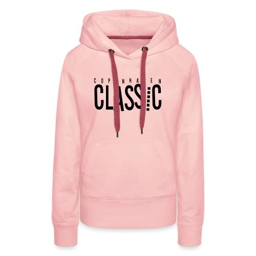 CPH Classic hættetrøje | Mænd - Dame Premium hættetrøje