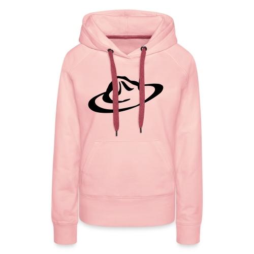 logo hoed - Vrouwen Premium hoodie