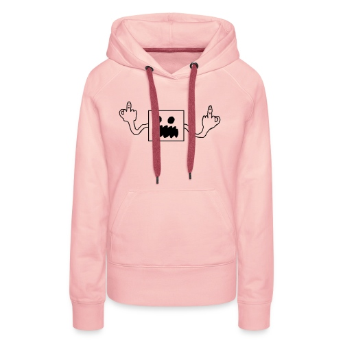 Fak joeton pumpkin - Vrouwen Premium hoodie
