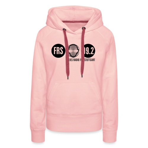 Logo FRS schwarz - Frauen Premium Hoodie