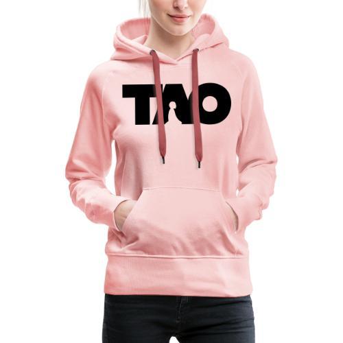 Tao meditation - Sweat-shirt à capuche Premium pour femmes