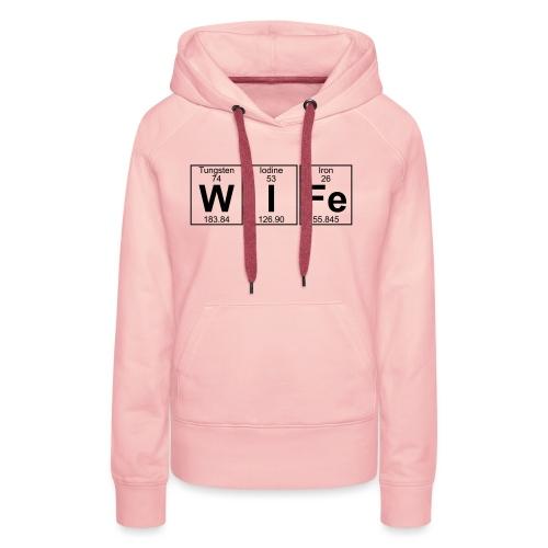 W-I-Fe (wife) - Women's Premium Hoodie