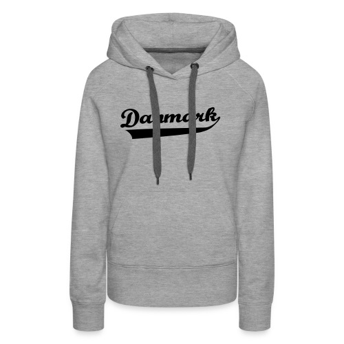 Danmark Swish - Dame Premium hættetrøje