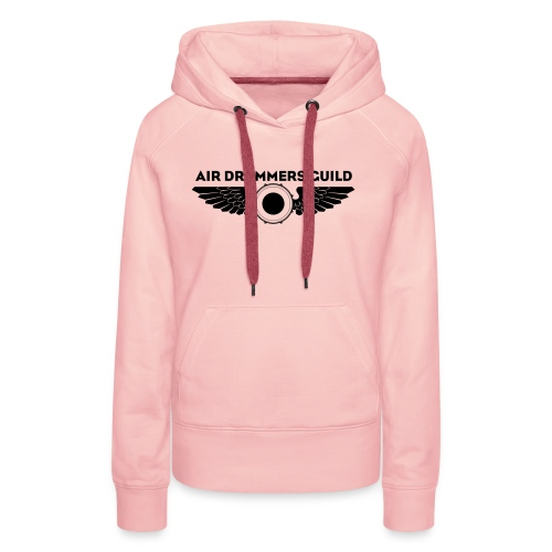 ADG Drum'n'Wings Emblem - Women's Premium Hoodie