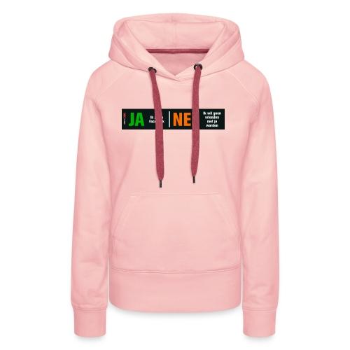 facebookvrienden - Vrouwen Premium hoodie