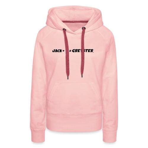 jack + = greyster - Sweat-shirt à capuche Premium pour femmes