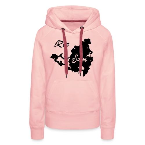 iRep Sxm Front vector - Vrouwen Premium hoodie