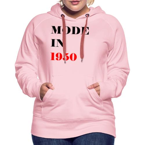 MODE IN 150 - Women's Premium Hoodie