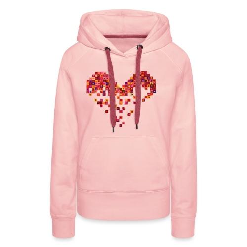 Broken Heart - Gebrochenes Herz - Frauen Premium Hoodie