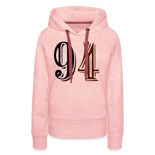 Swagg Dept. 94 - Sweat-shirt à capuche Premium pour femmes