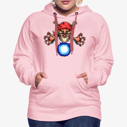 Magicien Pirate - Sweat-shirt à capuche Premium pour femmes