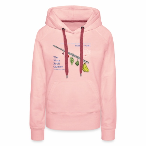 Experimental Musical Instruments - Flute Fruit - Women's Premium Hoodie
