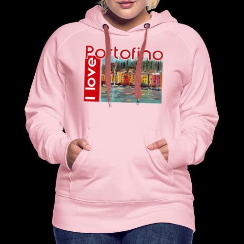 I love Portofino. Italy. - Frauen Premium Hoodie