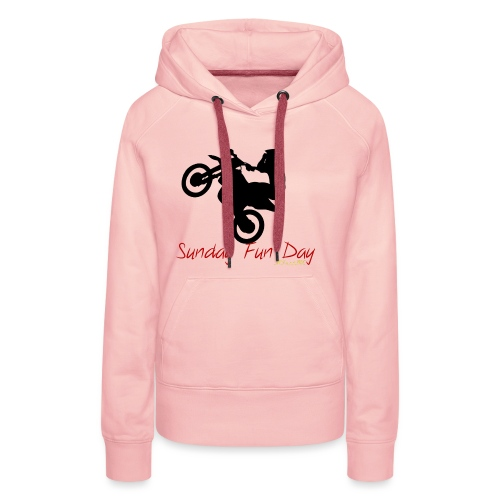 Sunday funday 3 - Sweat-shirt à capuche Premium pour femmes