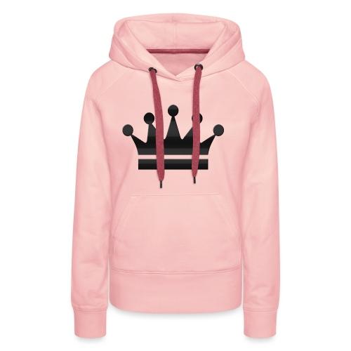 crown - Vrouwen Premium hoodie