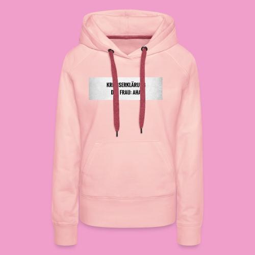 AHA - Frauen Premium Hoodie
