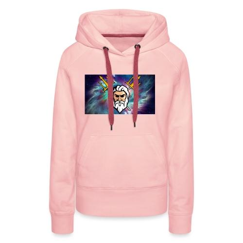 l'Olympe - Sweat-shirt à capuche Premium pour femmes