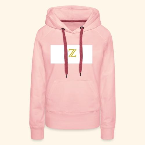 zaffer - Felpa con cappuccio premium da donna