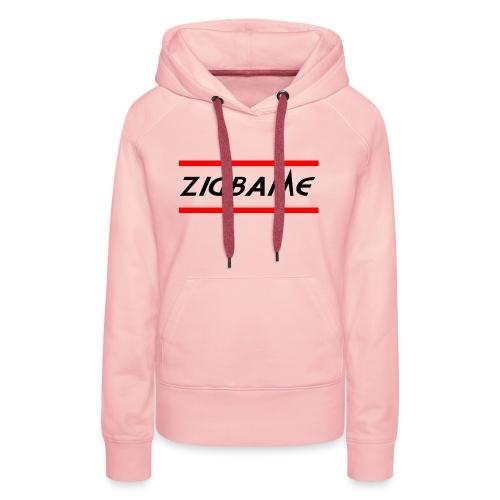 Zigbame - Sweat-shirt à capuche Premium pour femmes