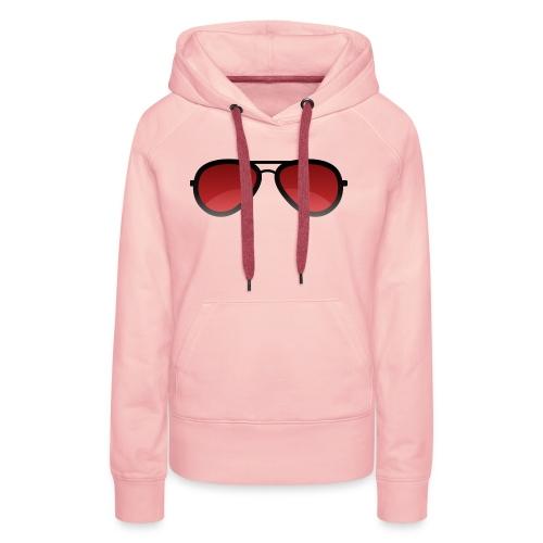 Enzed Sunglass - Sweat-shirt à capuche Premium pour femmes