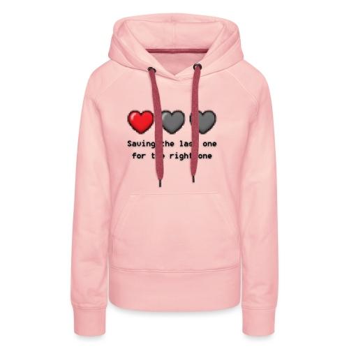 SavingTheLastOne - Dame Premium hættetrøje