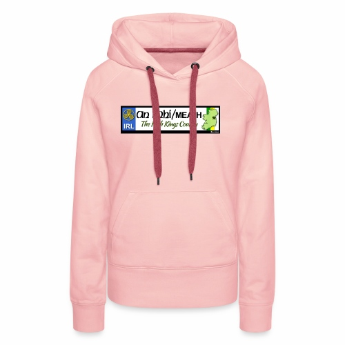 CO. MEATH, IRELAND: licence plate tag style decal - Women's Premium Hoodie