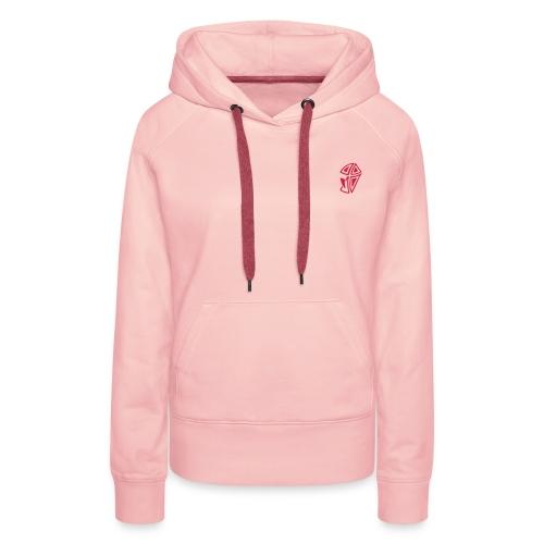 Mini Logo I - Frauen Premium Hoodie