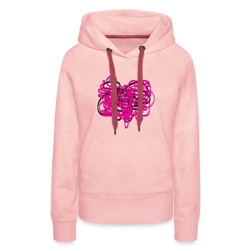 delicious pink - Women's Premium Hoodie