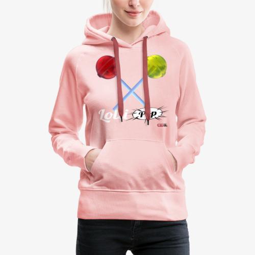 LOLLIPOP - Sweat-shirt à capuche Premium pour femmes