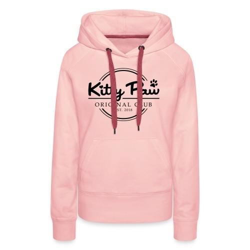 Kitty Paw Club - Dame Premium hættetrøje