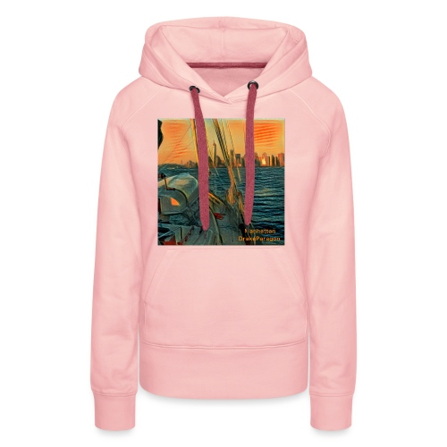 approaching manhattan - Women's Premium Hoodie