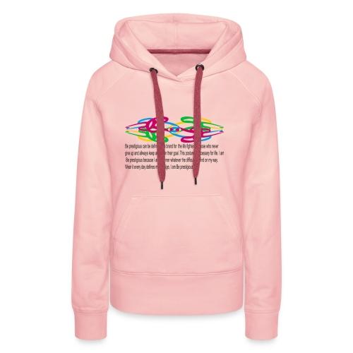 esprit seul et tembe A - Sweat-shirt à capuche Premium pour femmes