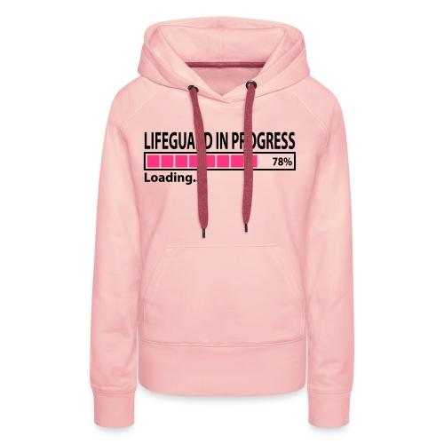 LifeguardInProgress - Sweat-shirt à capuche Premium pour femmes