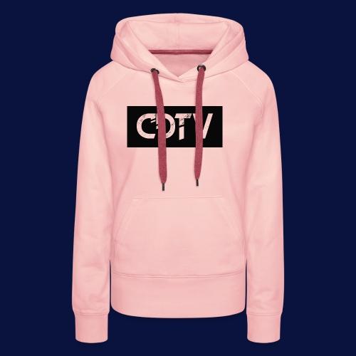 CDTV Box Logo - Women's Premium Hoodie