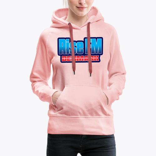 Rise FM Denmark Text Only Logo - Women's Premium Hoodie