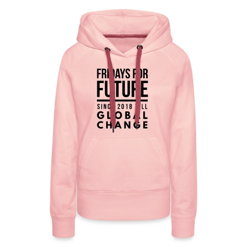 Fridays for Future till GlobalChange RescueTheBlue - Frauen Premium Hoodie