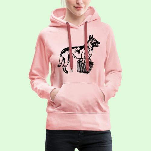 Berger Belge Malinois, la garde d'objet - Sweat-shirt à capuche Premium pour femmes