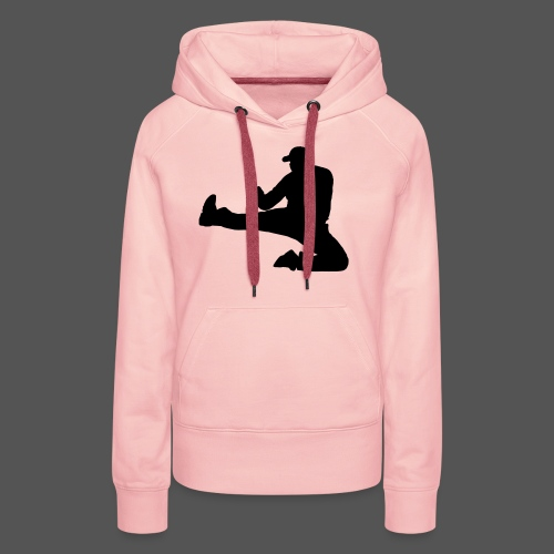 Flykick by canography - Frauen Premium Hoodie