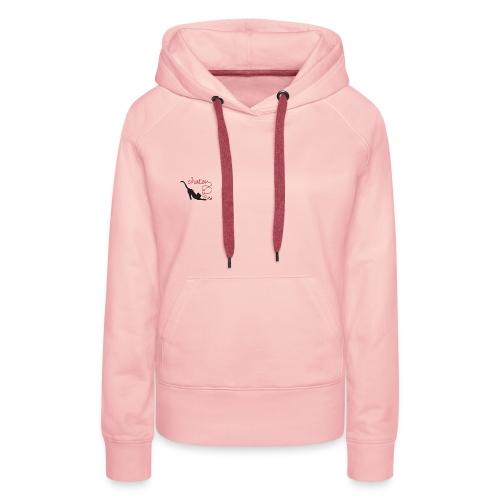 chaton 2 - Sweat-shirt à capuche Premium pour femmes