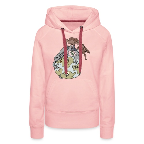 Consuming Ourselves to Death - Women's Premium Hoodie
